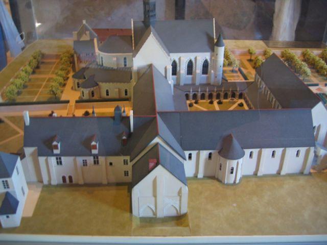 La maquette du Prieuré - Prieuré de Saint-Cosme
