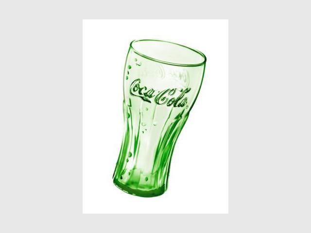 coca cola le verre collector de l 39 t. Black Bedroom Furniture Sets. Home Design Ideas