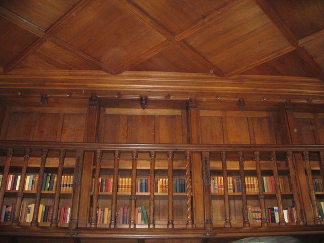 Galerie de la bibliothèque - Château de Candé