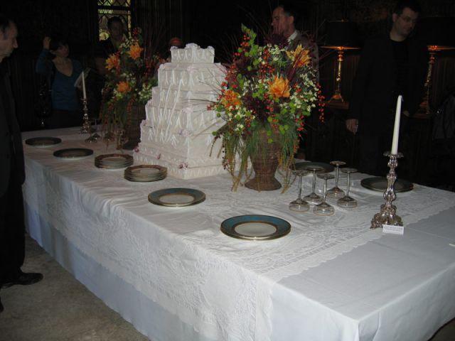 Buffet de mariage - Château de Candé