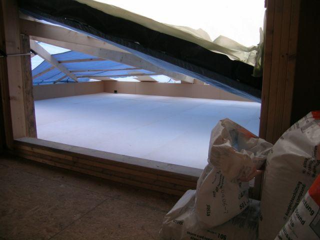 Etape 2 : Fabriquer une pente 3/3 - Toit terrasse végétalisé - étape par étape