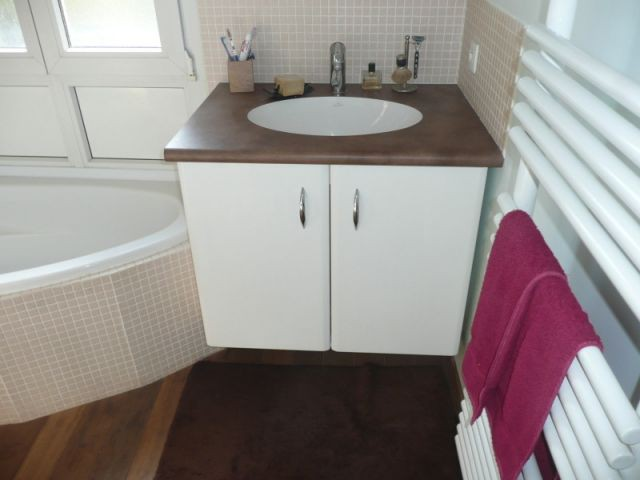 Salle de bains 9 m2 r nover for Renover lavabo