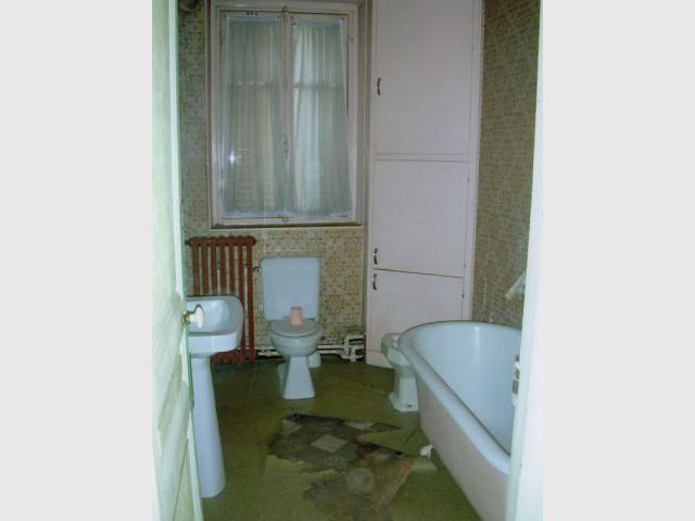 Avant apr s projet salle de bains for Projet salle de bain