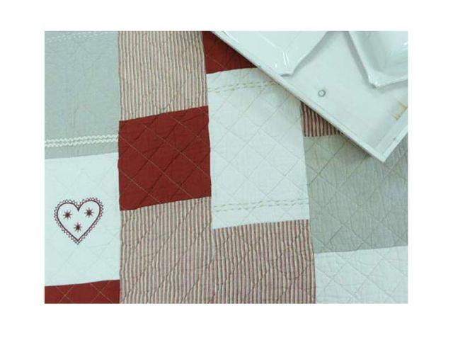Plaid Boutis patchwork Isère