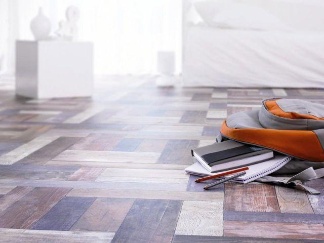balatum effet parquet affordable salle de bain authentique avec sol pvc effet parquet with. Black Bedroom Furniture Sets. Home Design Ideas