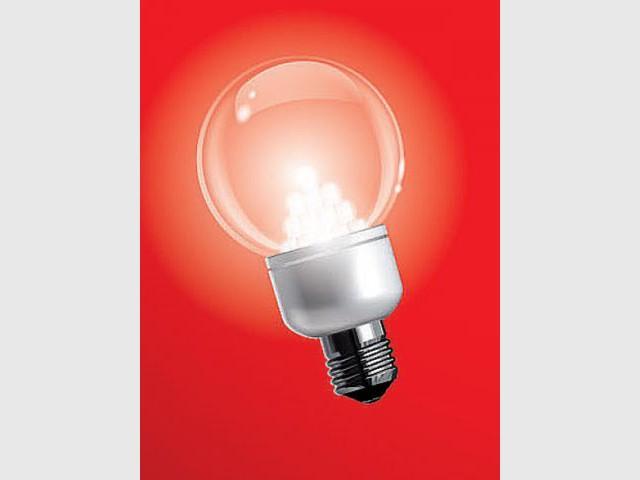Une ampoule à Leds