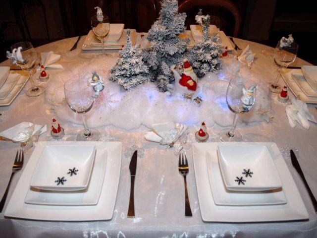 Père Noël - Tables de Noel - Christine