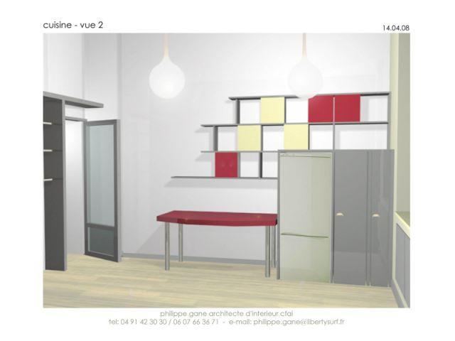 Plan cuisine 12m2 excellent plans de cuisine parallle for Prix cuisine 12m2