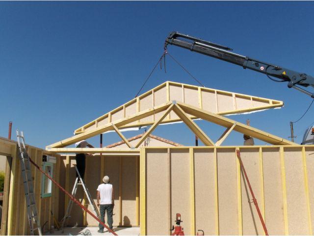 Etape par tape une maison colo en kit for Construire sa maison etape par etape