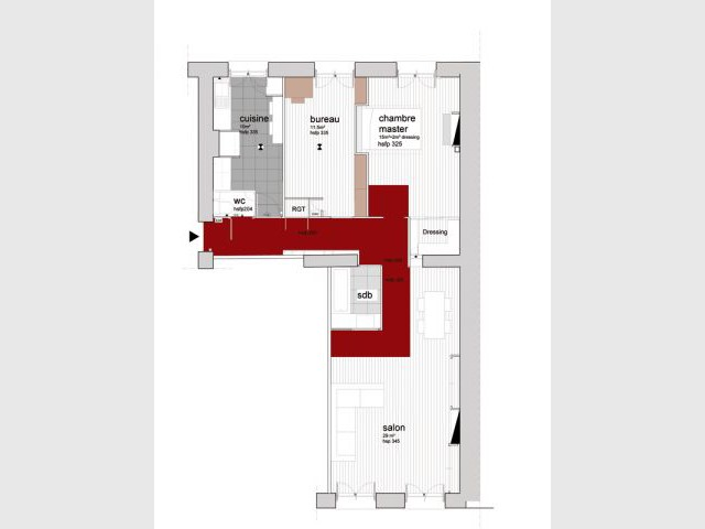 Plan Appartement En Ligne. Great Plan En Ligne Appartement Paris