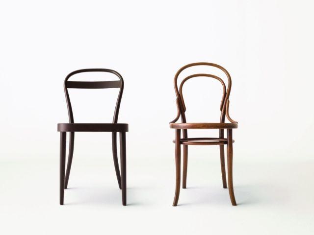 Thonet r invente sa chaise pour muji for Chaise auto pour bb