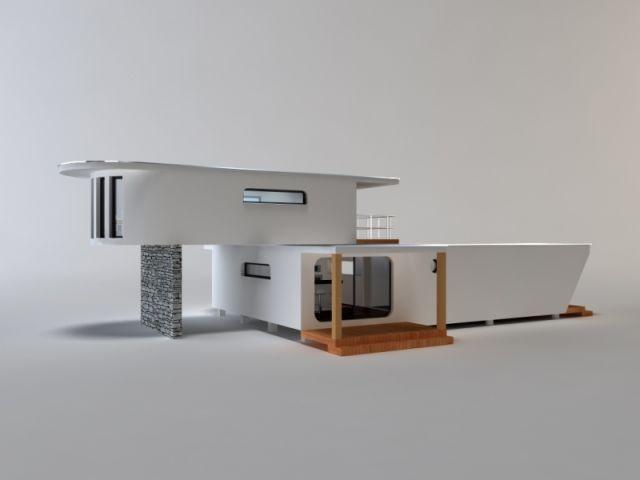 Une maison bois modulaire et design for Module maison bois