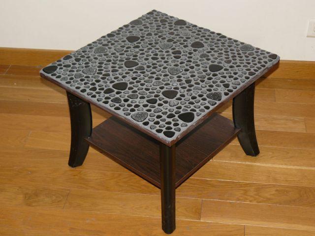 Relookez votre table avec de la mosa que - Modele mosaique pour plateau ...