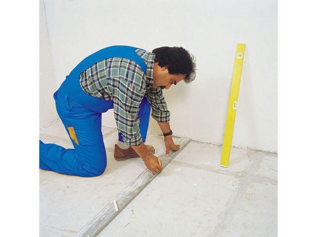 Installer des cloisons et des rangements en b ton cellulaire - Sol en beton cellulaire ...