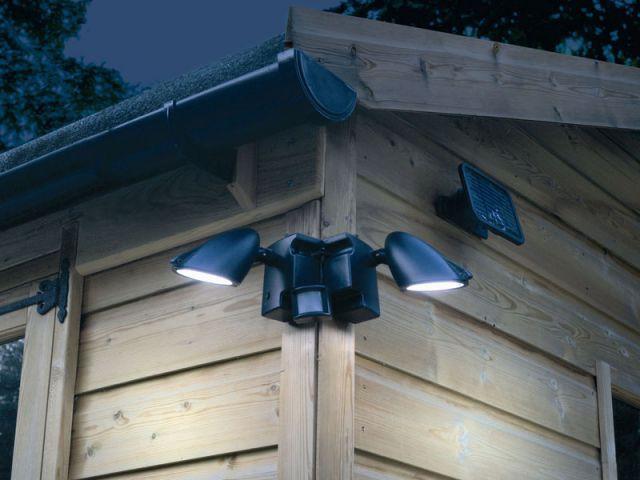 détecteur mouvement lumière solaire