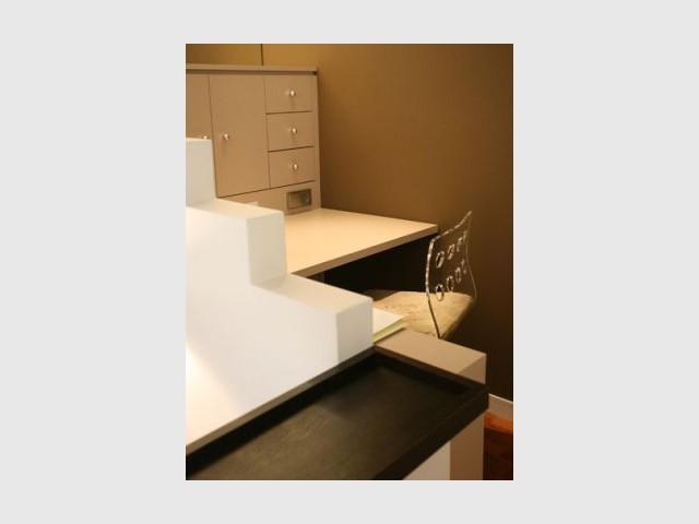 Bureau - Reportage appartement Emmanuel De Landtsheer