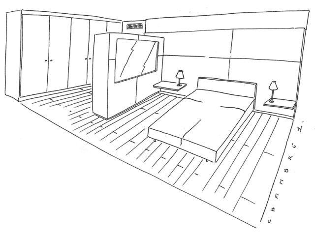 Plan chambre - Appartement