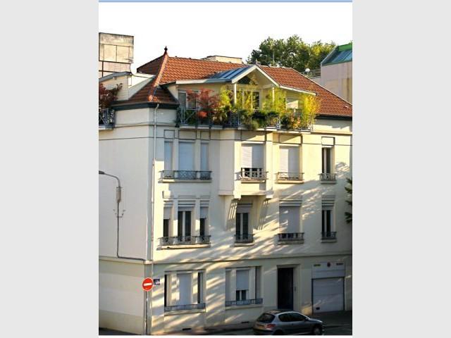 immeuble jardin suspendu Lyon