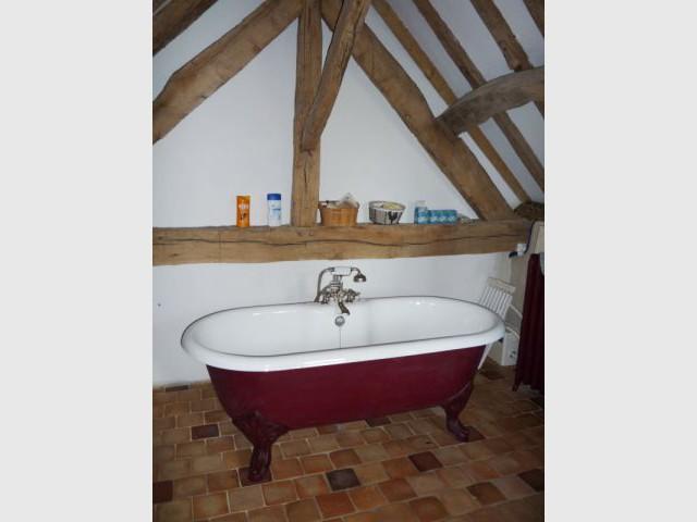 Salle de bains - Reportage ferme normande