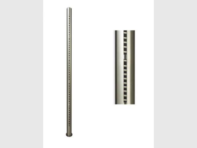 Totem - radiateur gris