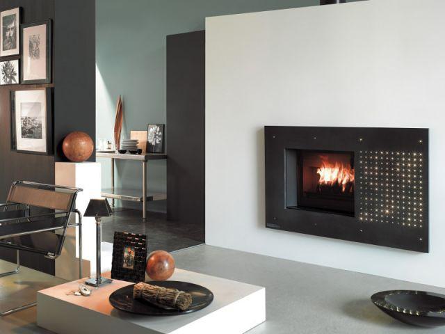 une chemin e qui ressemble un tableau. Black Bedroom Furniture Sets. Home Design Ideas