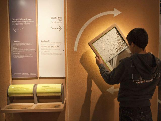 Atelier pratique - expo, la terre matière première