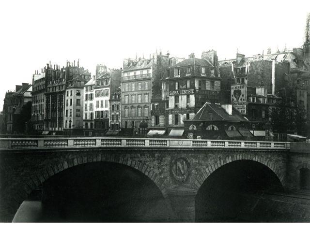 Paris Centre - Cité - Paris photographié au temps d'Haussmann