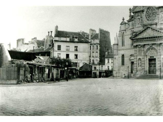 Quartier Latin - Paris photographié au temps d'Haussmann