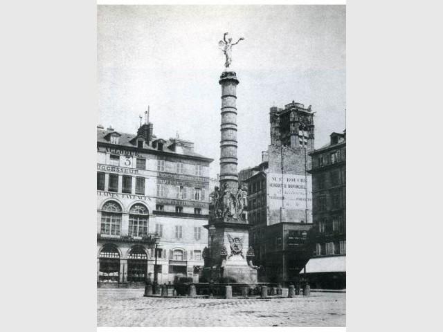 Chatelet - Paris photographié au temps d'Haussmann