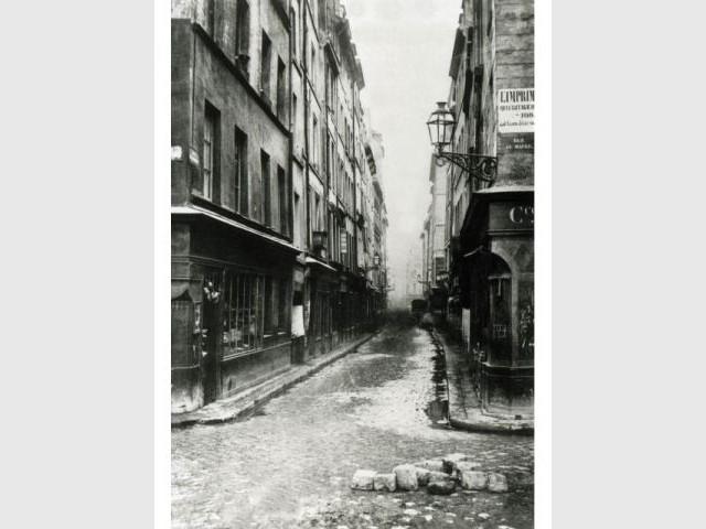 Beaubourg - Paris photographié au temps d'haussmann