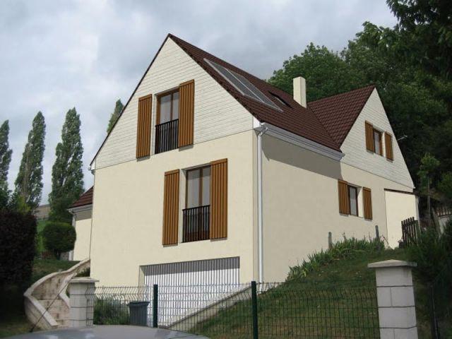 Vue extérieure 3D - Maison surélevée
