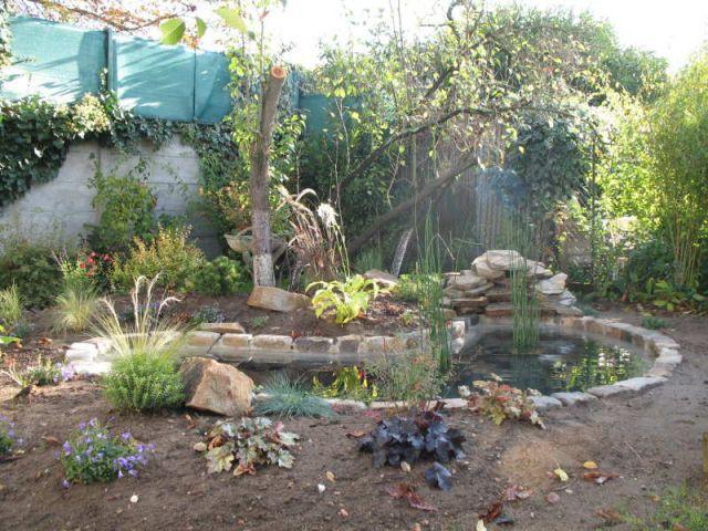 avant apr s un bassin pour redonner vie un jardin maisonapart. Black Bedroom Furniture Sets. Home Design Ideas
