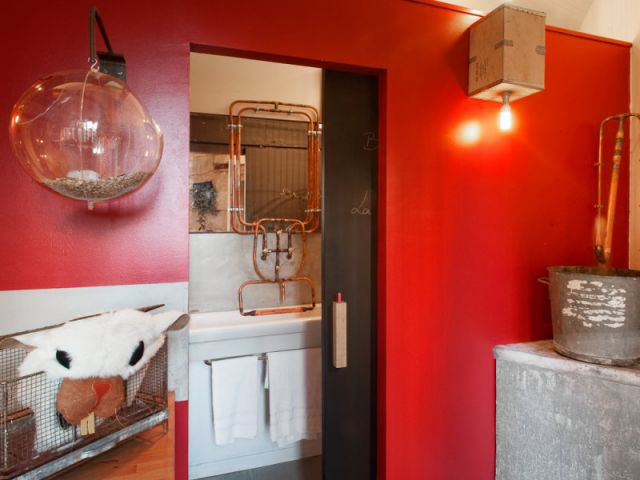 Accès salle de bains - Cédric Chassé