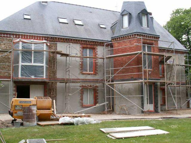 Refaire sa faade de maison refaire sa facade 51 reims mur ahurissant reims m - Refaire sa facade prix ...