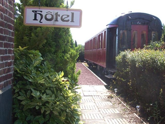 Extérieur du wagon - train