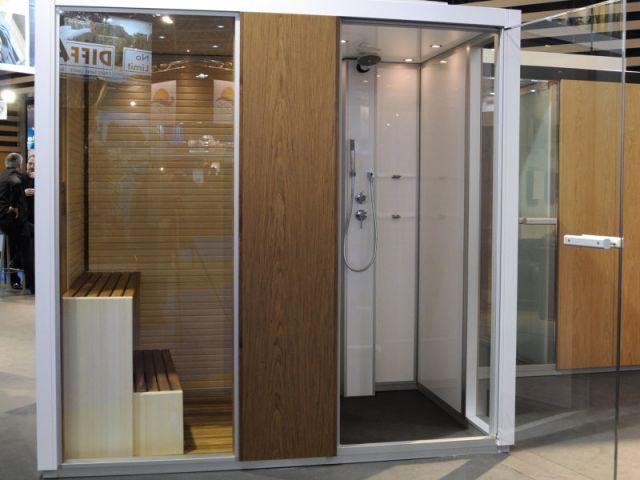Salon de la piscine 2009 floril ge de nouveaut s for Sauna exterieur occasion