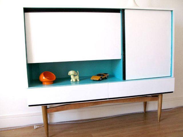 Coup de jeune - meuble customisé