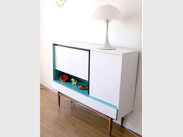 Disposition - meuble customisé