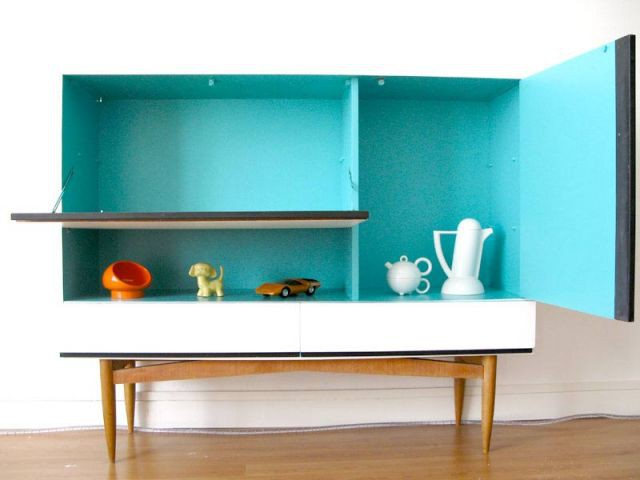 Intérieur - meuble customisé