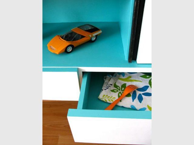Tiroirs - meuble customisé