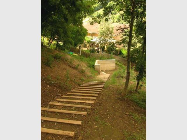 Escalier - terrasse