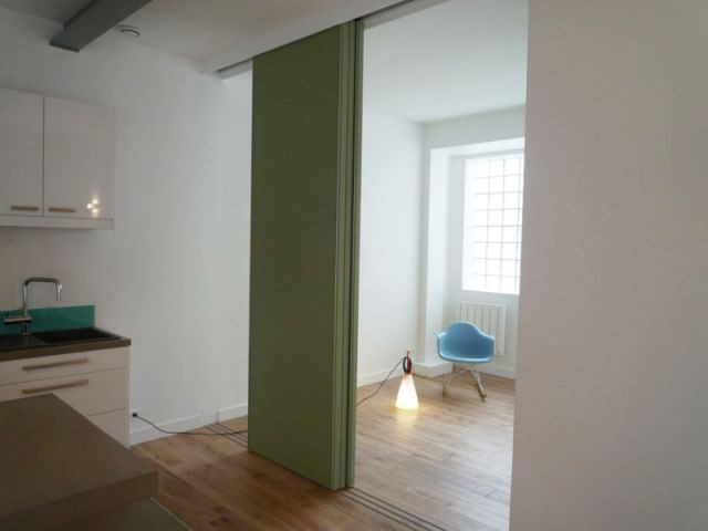 1 loft aux notes acidul es - Cloison mobile appartement ...