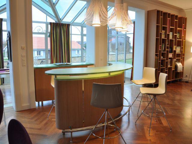 150 m2 d cor s la fran aise - Amenager lounge m ...