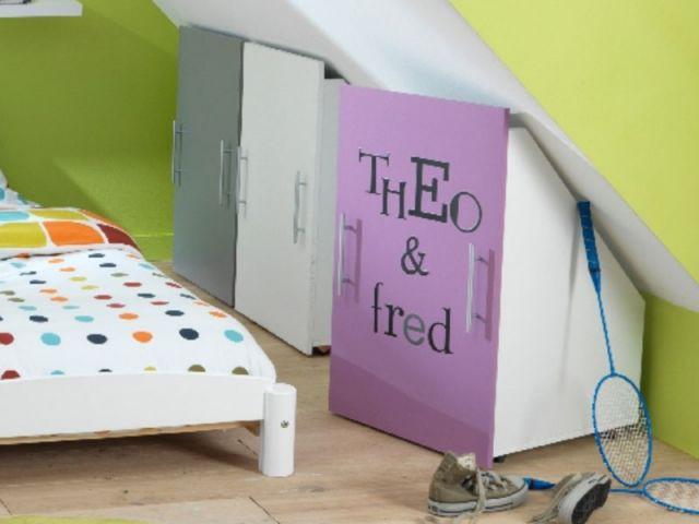 Douze solutions pour tout ranger dans la maison for Rangement combles