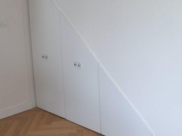 Après - rangement sous escalier