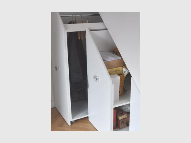 Accessoires - rangement sous escalier