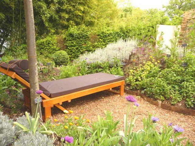 Un divan au jardin - jardin de Chaumont sur Loire