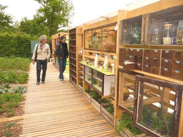 Contactez-moi - jardin de Chaumont sur Loire