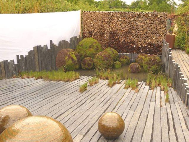 Le creux de la main - jardin de Chaumont sur Loire