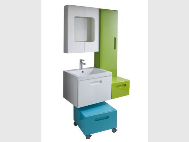 petites salles de bains solutions gain de place. Black Bedroom Furniture Sets. Home Design Ideas